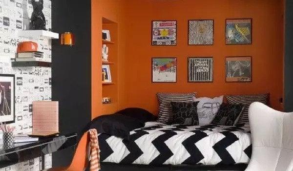Orange Paint Color Ideas