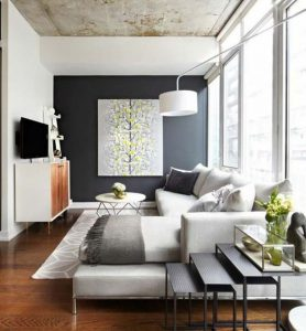 Decorating Ideas by Living Room Shape (19)