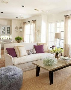 Decorating Ideas by Living Room Shape (6)