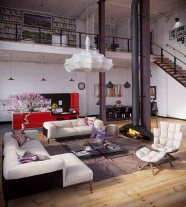 Industirial Interior Design Ideas (17)